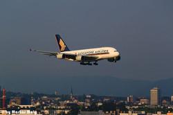 A380 / Singapore Airlines / LSZH