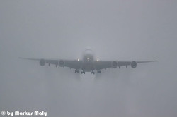 Emirates LDG EDDM RWY 08L #MUC #A380