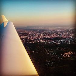 Flying over Graz