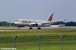B787 / Qatar / EDDM