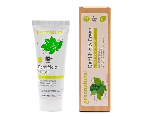 Dentifricio Fresh Menta GREENATURAL