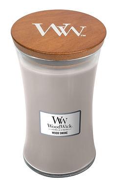 Candela Woodwick Large WOOD SMOKE