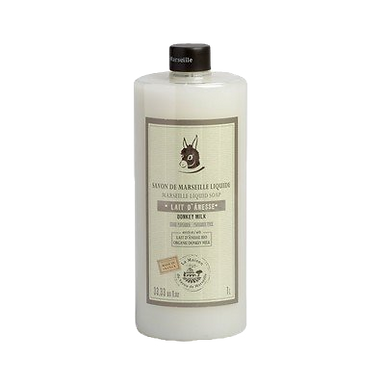 Sapone di Marsiglia Liquido Ricarica 1Lt al Latte d'Asina