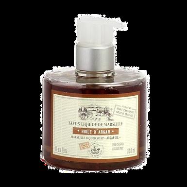 Sapone di Marsiglia Liquido 330ml con Dosatore all'Olio di Argan