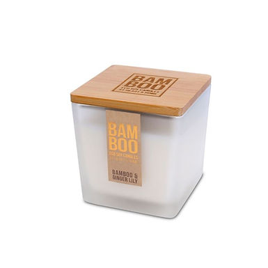 CANDELA BAMBOO IN CERA DI SOIA - BAMBOO & GINGER LILY - 210G