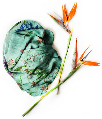 Foulard INNBAMBOO Frida Kahlo