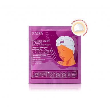 Maschera Capelli In Tessuto Effetto Termo-Vapore - Sebo-Equilibrante E Addolcent