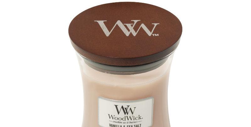 Candela Woodwick Medium VANILLA SEA SALT