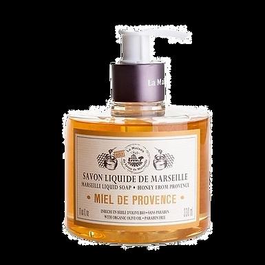 Sapone di Marsiglia Liquido 330ml con Dosatore al Miele di Provenza