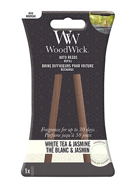 REFILL Auto Reeds WHITE TEA & JASMINE - WoodWick