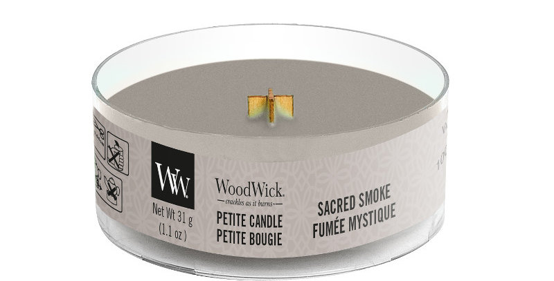 Candela Woodwick Petite SACRED SMOKE