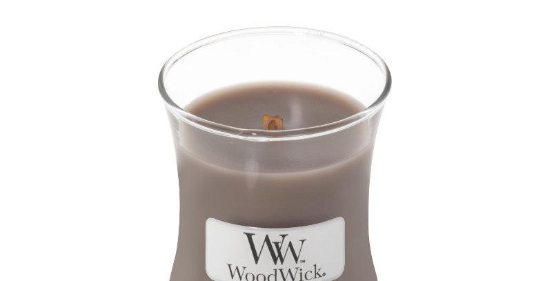Candela Woodwick Mini BLACK AMBER & CITRUS