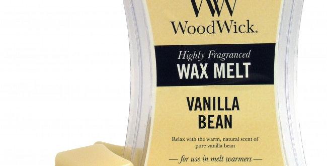 Cialda per bruciatori Woodwick WAX Melt VANILLA BEAN