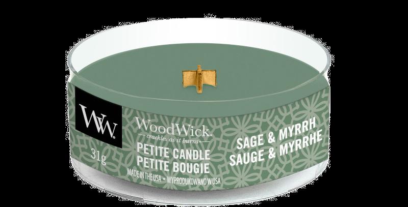 Candela Woodwick Petite SAGE & MYRRH