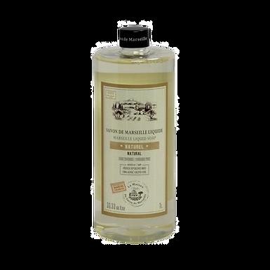 Sapone di Marsiglia Liquido Ricarica 1Lt Naturale