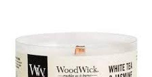 Candela Woodwick Petite  WHITE TEA & JASMINE