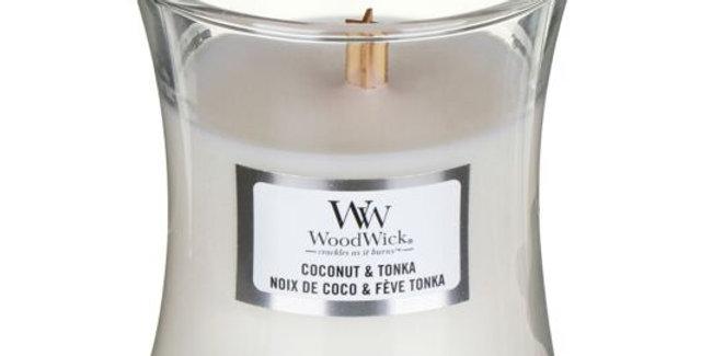 Candela Woodwick Coconut & Tonka Mini