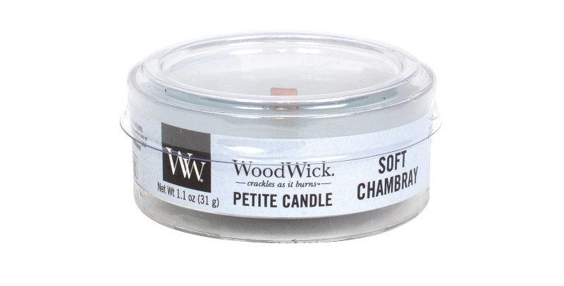 Candela Woodwick Petite Soft Chambray