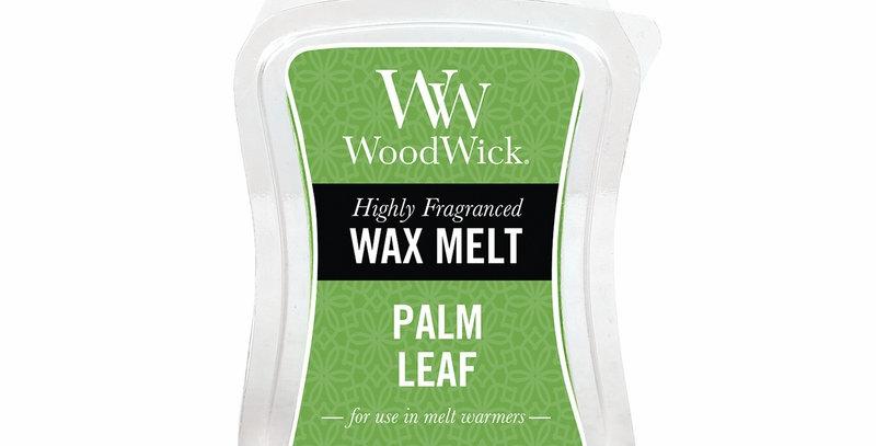 Cialda per bruciatori Woodwick WAX Melt PALM LEAF