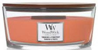 Candela Woodwick Ellipse TAMARIND AND STONE FRUIT