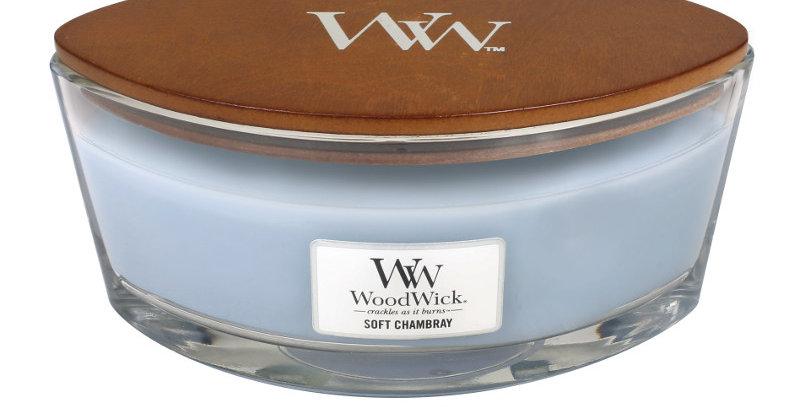 Candela Woodwick Ellipse Soft Chambray