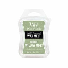 Cialda per bruciatori Woodwick WAX Melt WHITE WILLOW MOSS