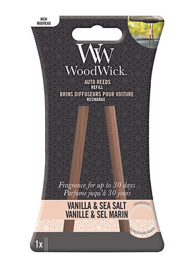 REFILL Auto Reeds VANILLA & SEA SALT - WoodWick
