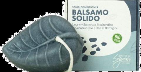 Balsamo Solido Biologico Borragine e Canapa