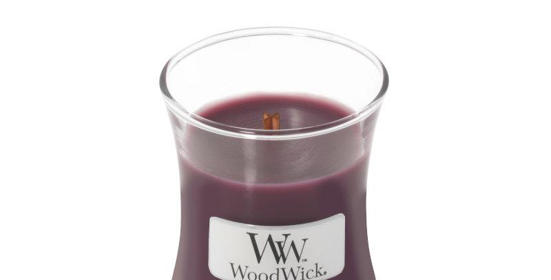 Candela Woodwick Mini DARK POPPY