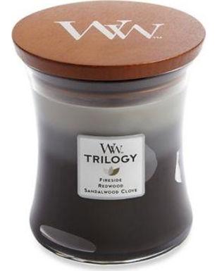 WOODWICK Candela Medium TRILOGY WARM WOODS