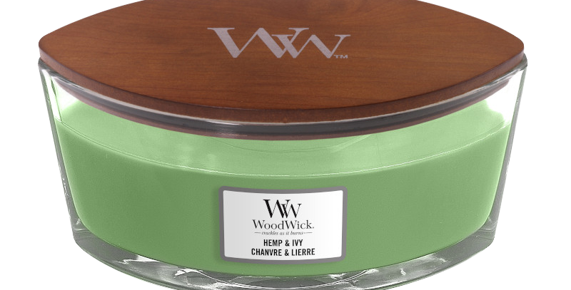 Candela Woodwick Ellipse HEMP AND IVY