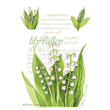 Buste Maxi 115×170 mm Lily of the Valley