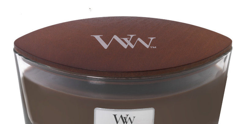Candela Woodwick Ellipse AMBER AND INCENSE