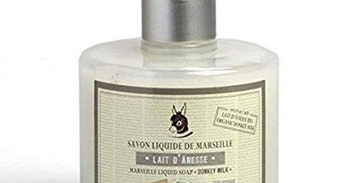 Sapone di Marsiglia Liquido 330ml con Dosatore al Latte di Asina