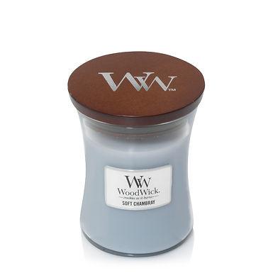 Candela Woodwick Mini Soft Chambray