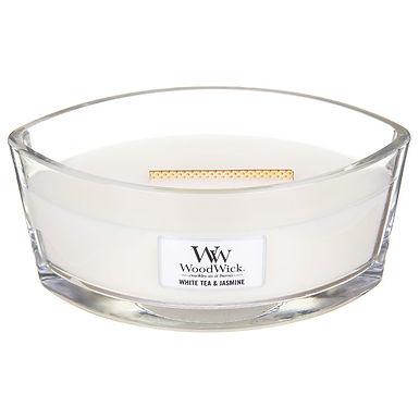 Candela Woodwick Ellipse WHITE TEA & JASMINE
