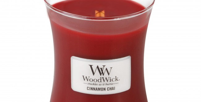 Candela Woodwick Mini CINNAMON CHAI