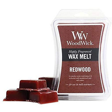 Cialda per bruciatori Woodwick WAX Melt REDWOOD