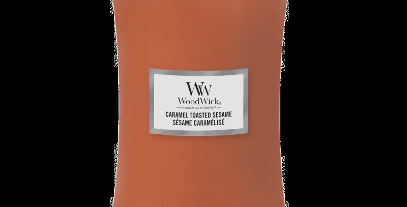 Candela Woodwick Large CARAMEL TOASTED SESAME