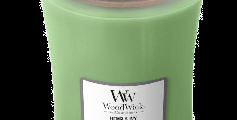 Candela Woodwick Large HEMP AND IVY
