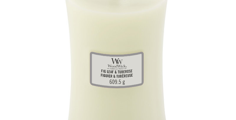 Candela Large Woodwick  FIG LEAF & TUBEROSE