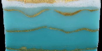 BOMB COSMETICS Handmade Soap Saponetta Naturale Fatta a Mano Golden Sands