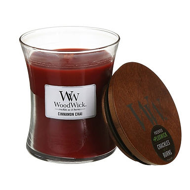 Candela Woodwick Medium CINNAMON CHAI