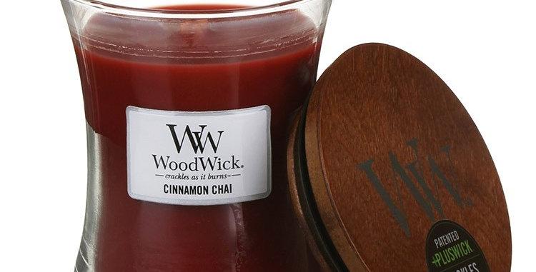 Candela Woodwick Medium CINNAMON CHAI