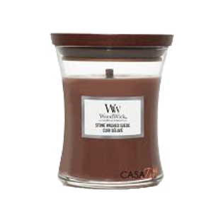 Candela Woodwick Small STONE WASHED SUEDE