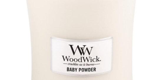 Candela Woodwick Large BABY POWDER