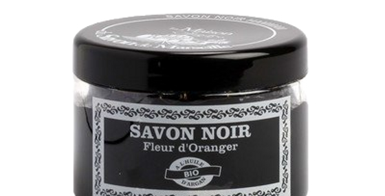 Sapone Nero 300ml Fiori di arancio