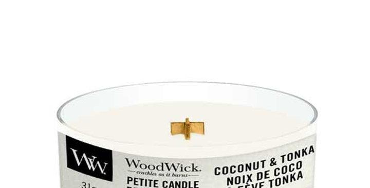 Candela Woodwick Coconut & Tonka Petite
