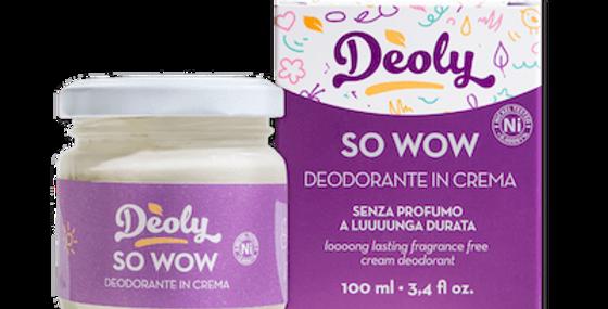 LATTEELUNA DEODORANTE DEOLY SO WOW PLASTIC FREE 100ML