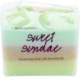 BOMB COSMETICS Soap Saponetta Naturale Fatta a Mano SWEET SUNDAE